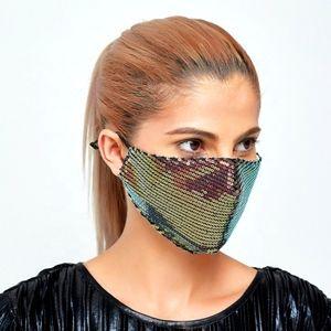 Gold Colour Change Face Mask